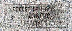 Robert William Gammon