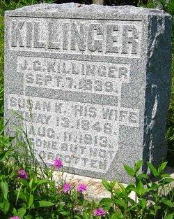 Susan Kidwell <I>Bradley</I> Killinger
