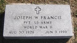 Joseph W Francis
