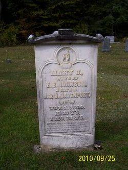 Mary J. <I>Davenport</I> Johnson