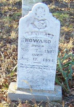 Leviday <I>Holbrook</I> Howard