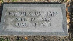 William Sloan Rhyne