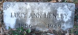 Lucy Ann Henley