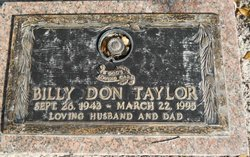 Billy Don Taylor