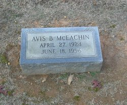 Avis B. McEachin