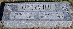"""Marie Wilhelmina """"Minnie"""" <I>Bock</I> Obermier"""