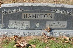 "Adolphus Whitfield ""Doll"" Hampton"