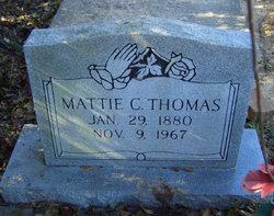 Mattie C Thomas