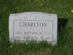 Thressa Sophia <I>Cogswell</I> Charlton