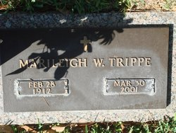 "Marileigh ""Mary"" <I>Warren</I> Trippe"