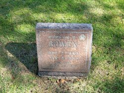 Evelyn Radford <I>Hall</I> Bowen