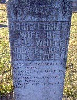 Addie Lucile <I>Joyner</I> White
