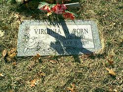 Virginia Marlys <I>Rhames</I> Born