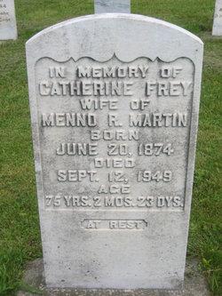 Catherine <I>Frey</I> Martin