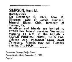 Anna M. Simpson