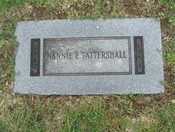 Nannie E. <I>Williams</I> Tattershall