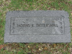 Thomas E Tattershall