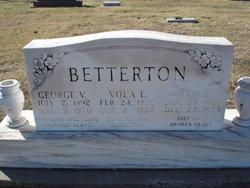Vola E. <I>Dunn</I> Betterton