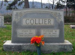Flossie Cathern <I>Morris</I> Collier