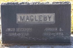 "Jane Adam ""Jennie"" <I>Warnock</I> Magleby"