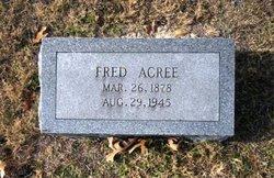 "Robert Frederick ""Fred"" Acree, Sr"