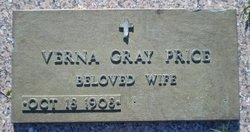 Verna <I>Gray</I> Price