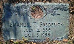 Emanuel T. Frederick