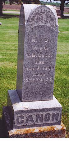 Ruth M. <I>Wood</I> Canon