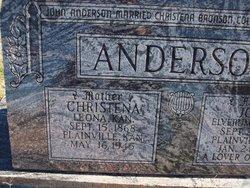 """Christena """"Stena"""" <I>Bronson</I> Anderson"""