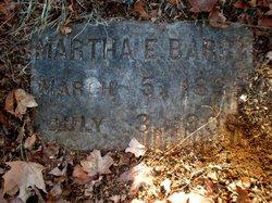 Martha E Barry
