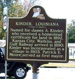Judge James Arthur Kinder