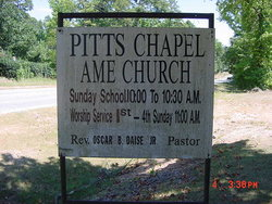 Pitts Chapel AME Church Cemetery