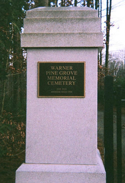 Warner Pine Grove Memorial Cemetery