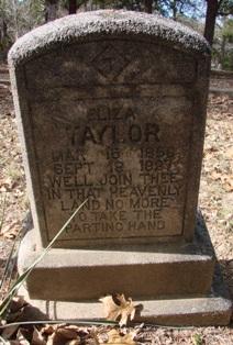 "Elizabeth Lucy ""Eliza"" <I>Suggs</I> Taylor"