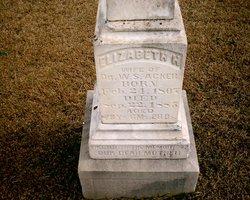 Elizabeth Harriet <I>White</I> Acker