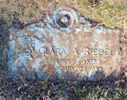 Clara <I>Atherton</I> Riedel