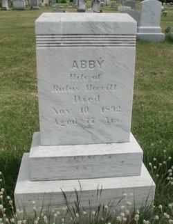 """Abagail """"Abby"""" <I>Jordan</I> Merrill"""