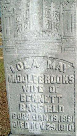 Lola May <I>Middlebrooks</I> Barfield