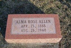 Alma Rose <I>Chastain</I> Allen