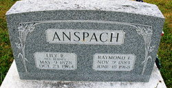 "Raymond Elmer ""Shorty"" Anspach"