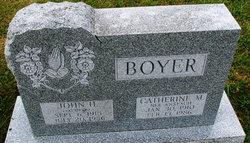 Catherine M <I>Anspach</I> Boyer
