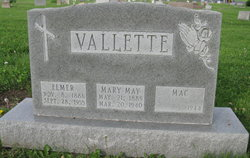 Mary May <I>Scholl</I> Vallette
