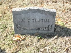 Joe Warlick Whitwell