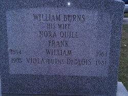 Nora <I>Quill</I> Burns