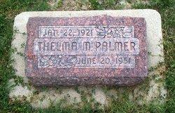 Thelma Mae <I>Bates</I> Palmer
