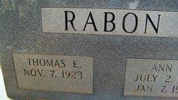 "Thomas Eugene ""Tom"" Rabon"