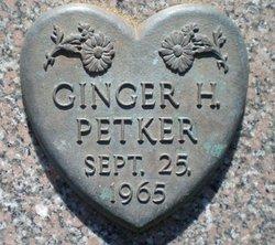 Ginger H. Petker