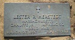 Lester Rudolf Herstedt