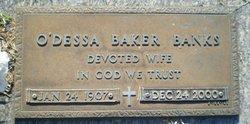 O'Dessa <I>Baker</I> Banks
