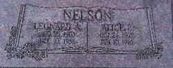 Leonard Albert Nelson